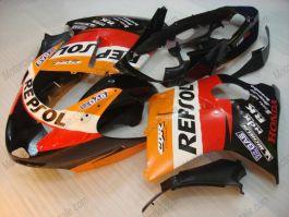 Honda CBR 1100XX BLACKBIRD 1996-2007 Injection ABS verkleidung - Repsol - Orange/Schwarz/Rot