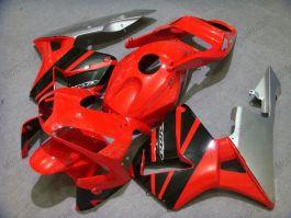 Honda CBR 600RR F5 2003-2004 Injection ABS verkleidung - anderen - Rot/Schwarz/Silber
