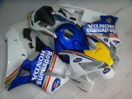 Honda CBR 600RR F5 2003-2004 Injection ABS verkleidung - Rothmans - Blau/Weiß