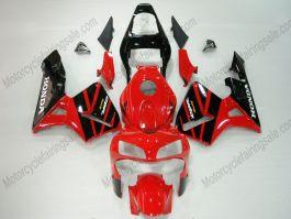 Honda CBR 600RR F5 2003-2004 Injection ABS verkleidung - anderen - Schwarz/Rot