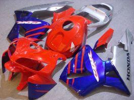 Honda CBR 600RR F5 2005-2006 Injection ABS verkleidung - anderen - Rot/Silber/Blau