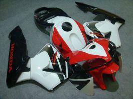 Honda CBR 600RR F5 2005-2006 Injection ABS verkleidung - anderen - Weiß/Schwarz/Rot