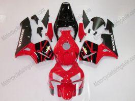 Honda CBR 600RR F5 2005-2006 Injection ABS verkleidung - anderen - Schwarz/Rot