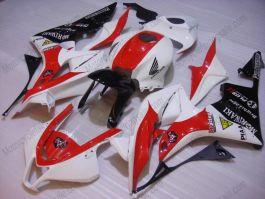 Honda CBR 600RR F5 2007-2008 Injection ABS verkleidung - M Racing  - Weiß/Schwarz/Rot