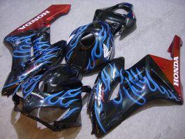 Honda CBR1000RR 2004-2005 Injection ABS verkleidung - Blau Flame - Schwarz/braun