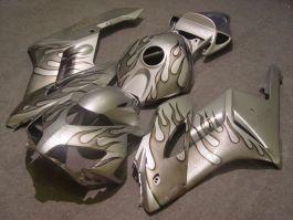Honda CBR1000RR 2004-2005 Injection ABS verkleidung - Grau Flame - Silber