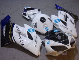 Honda CBR1000RR 2004-2005 Injection ABS verkleidung - Konica Minolta - Weiß