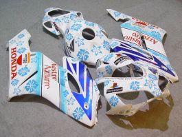 Honda CBR1000RR 2004-2005 Injection ABS verkleidung - Nastro Azzurro - Blau/Weiß