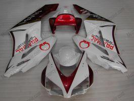 Honda CBR1000RR 2004-2005 Injection ABS verkleidung - PRAMAC - Rot/Weiß