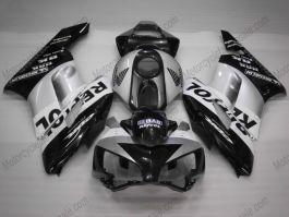 Honda CBR1000RR 2004-2005 Injection ABS verkleidung - Repsol - Schwarz/Silber