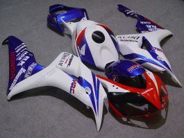 Honda CBR1000RR 2006-2007 Injection ABS verkleidung - Dream - Weiß/Rot/Blau