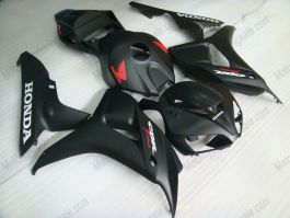Honda CBR1000RR 2006-2007 Injection ABS verkleidung - Fireblade - alle Schwarz