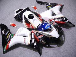 Honda CBR1000RR 2006-2007 Injection ABS verkleidung - Lee - Weiß/Schwarz/Rot