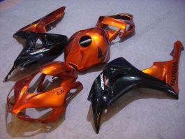 Honda CBR1000RR 2006-2007 Injection ABS verkleidung - Fireblade - Orange/Schwarz