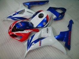 Honda CBR1000RR 2006-2007 Injection ABS verkleidung - Fireblade - Weiß/Rot/Blau