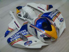 Honda CBR1000RR 2006-2007 Injection ABS verkleidung - Rothmans - Blau/Weiß/Gelb