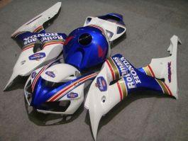 Honda CBR1000RR 2006-2007 Injection ABS verkleidung - Rothmans - Weiß/Schwarz