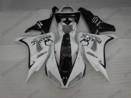 Honda CBR1000RR 2006-2007 Injection ABS verkleidung - PRAMAC - Weiß/Schwarz