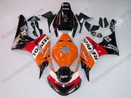 Honda CBR1000RR 2006-2007 Injection ABS verkleidung - Repsol - Orange/Schwarz/Rot