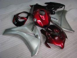 Honda CBR1000RR 2008-2011 Injection ABS verkleidung - Fireblade - Rot/Silber