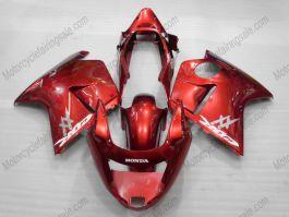 Honda CBR 1100XX BLACKBIRD 1996-2007 Injection ABS verkleidung - anderen - Rot