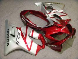 Honda CBR600 F4i 2004-2007 Injection ABS verkleidung - anderen - Silber/Rot