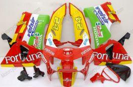 Honda CBR900RR 919 1998-1999 ABS verkleidung - Fortuna - Rot/Gelb