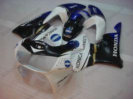 Honda CBR900RR 919 1998-1999 ABS verkleidung - Konica Minolta - Weiß/Schwarz/Blau