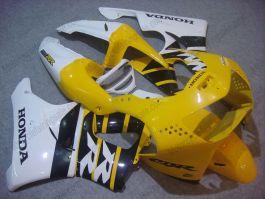 Honda CBR900RR 919 1998-1999 ABS verkleidung - Fireblade - Gelb/Schwarz/Weiß