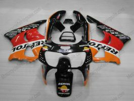 Honda CBR900RR 919 1998-1999 ABS verkleidung - Repsol - Schwarz/Rot/Orange