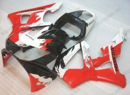 Honda CBR900RR 929 2000-2001 ABS verkleidung - Erion Racing - Weiß/Schwarz/Rot