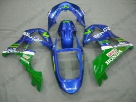 Honda CBR900RR 929 2000-2001 ABS verkleidung - Movistar - Blau/Grün