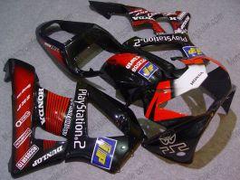 Honda CBR900RR 929 2000-2001 ABS verkleidung - Play Station - Schwarz/Rot