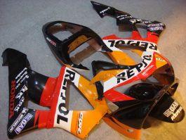 Honda CBR900RR 929 2000-2001 ABS verkleidung - Repsol - Orange/Schwarz