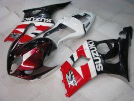 Suzuki GSX-R 1000 2003-2004 K3 Injection ABS verkleidung - anderen - Rot/Schwarz/Weiß