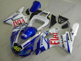 Yamaha YZF-R1 1998-1999 Injection ABS verkleidung - FIAT - Weiß/Blau